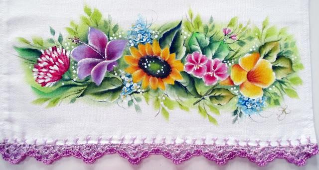 vídeo pintura em tecido