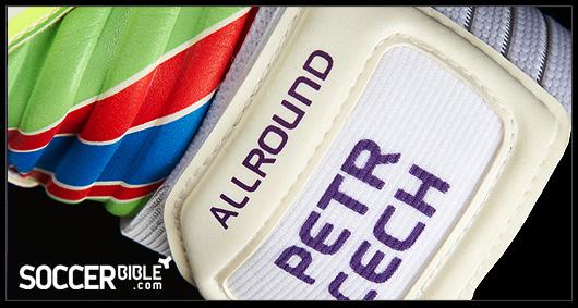 Adidas Goalkeeper Gloves Fingersave Allround Petr Cech Colourful Go...