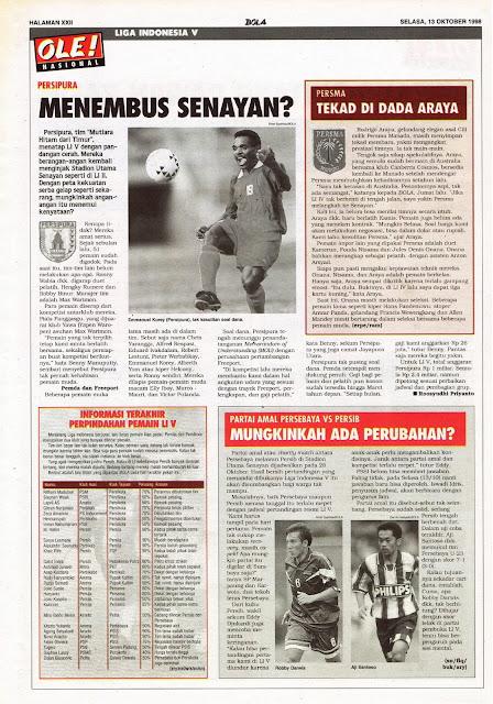 LIGA INDONESIA V: PERSIPURA