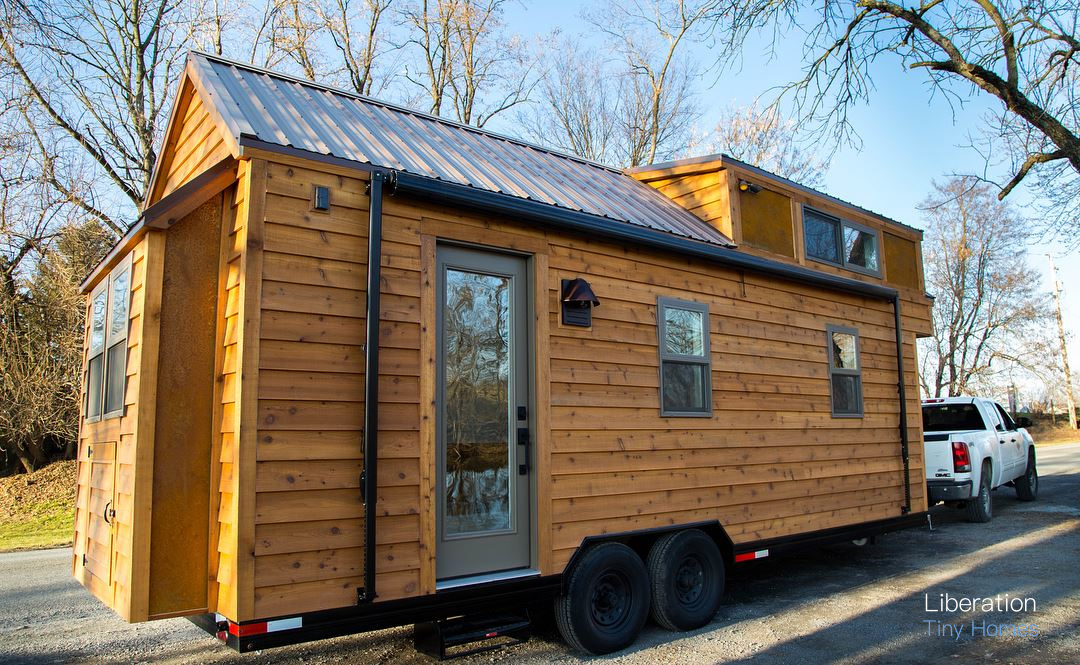 From Liberation Tiny Homes Is This Beautiful Modern Rustic House Inspired By The Farmhouses Of Lancaster Pennsylvania