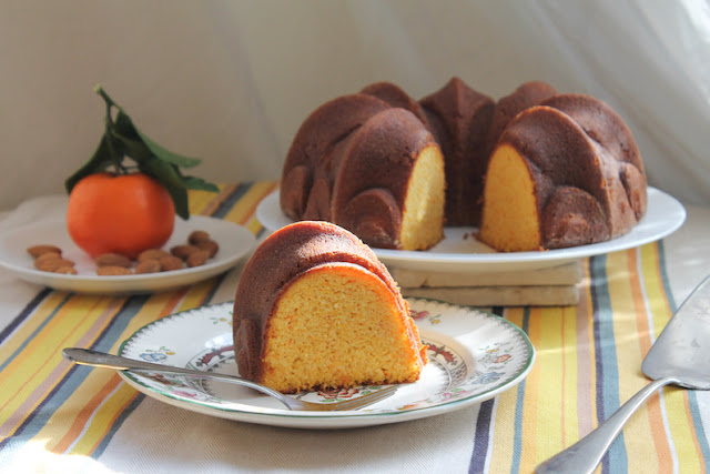 Food Lust People Love: Naturally gluten-free, this clementine almond Bundt is melt-in-your-mouth tender with a wonderful crumb that tastes buttery and rich, with the sweet and sharp flavors of tangy marmalade.