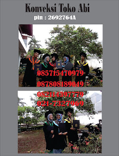 Konveksi Pesan Jual Toga Wisuda Sarjana Di Tangerang