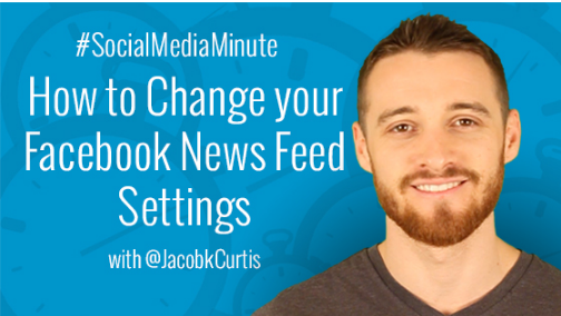 Change News Feed Settings Facebook