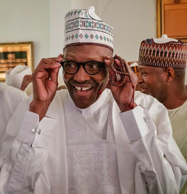 wp 1506725763306 - 9JA NEWS: President Buhari Captured With A Very Rare Smile Shortly After Jumaat Prayer