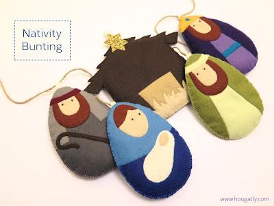 http://hoogally.com/2014/11/nativity-bunting-tutorial/