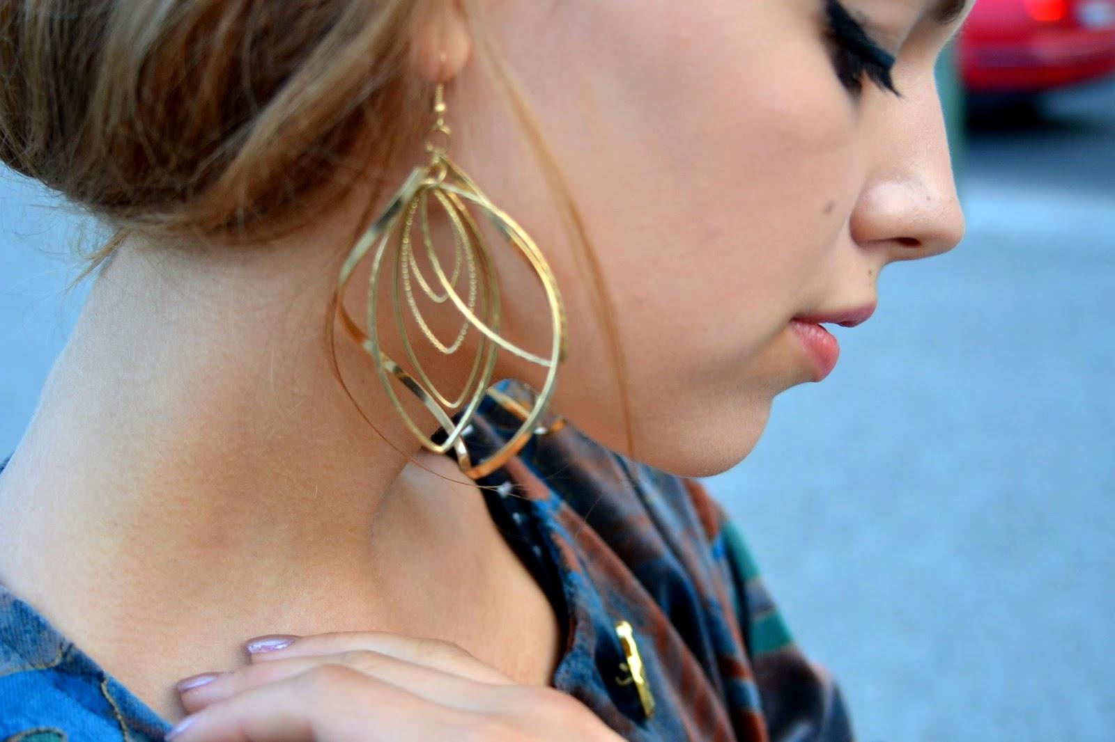 jasmin myberlin fashion earrring fashion outfitpost kadewe wittenbergplatz