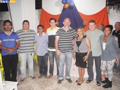 Em reunião, presidente do Partido Solidariedade de Anapurus declara apoio ao pré-candidato a prefeito Júlio Cesar