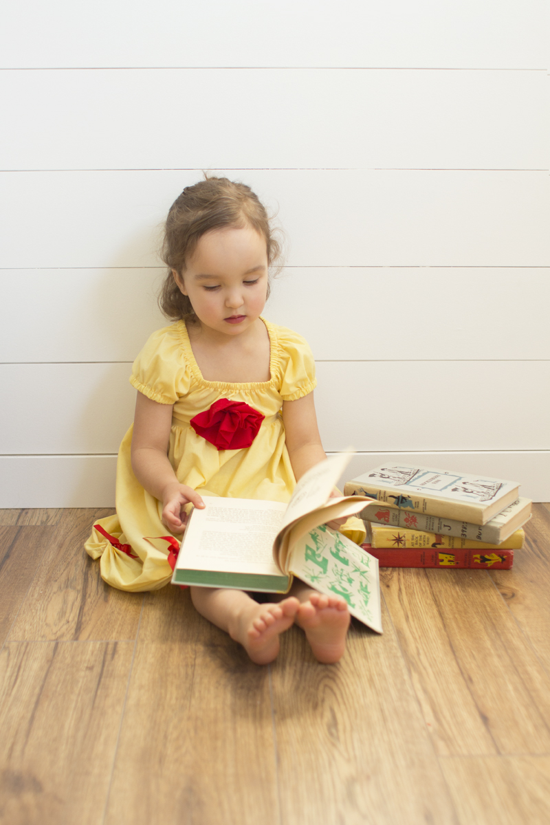 Belle Toddler Dress