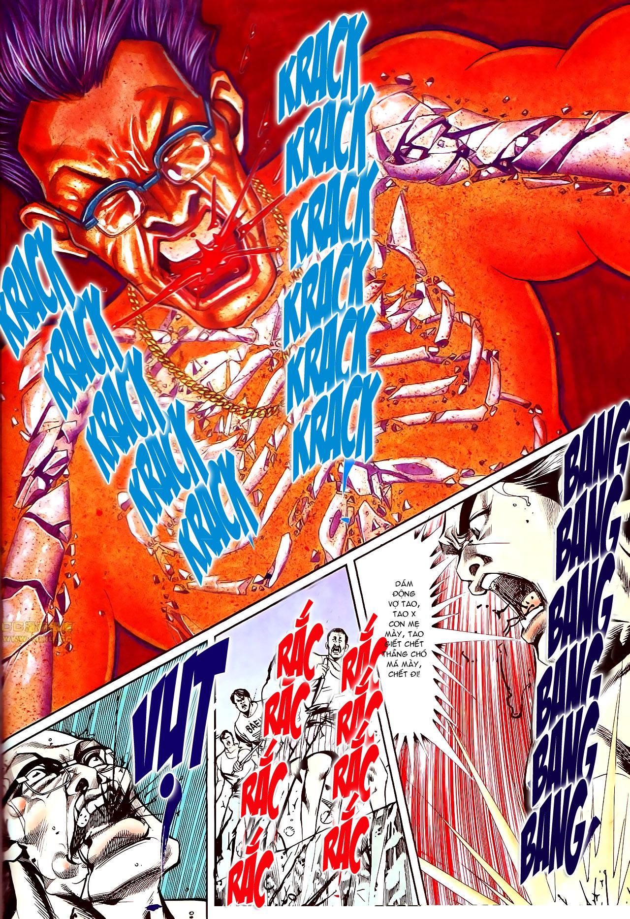 Người Trong Giang Hồ chapter 145: máu thịt tung tóe trang 13