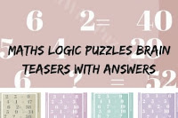 Maths Logic Puzzles Brain Teasers with Answers