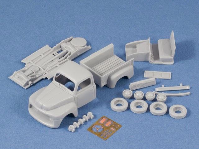 F4Models Site: USAF & U S  Navy 1950s Utility Pickup Truck Model