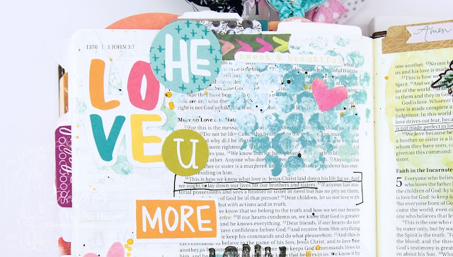 Hobbie Haven - Illustrated Faith This is Love Devotional - 1 John 3:16