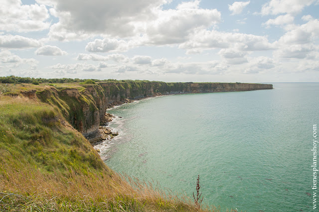 Pointe du Hoc lugares imprescindibles historia Guerra Normandia