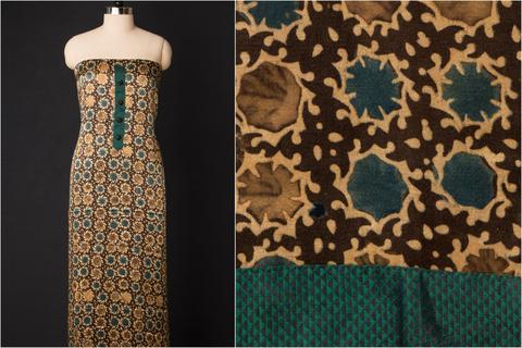 Hand Block Printed Kalamkari Fabric