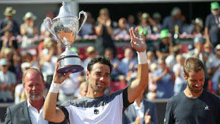 Fognini wins Swedish Open title