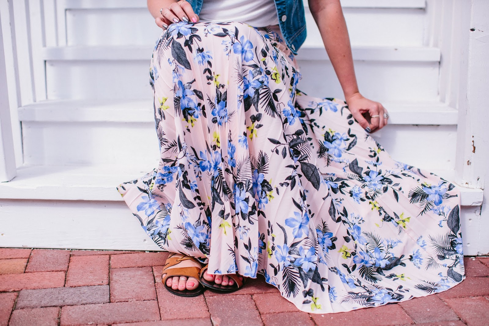 Floral Skirt, Darling Me Avenue,