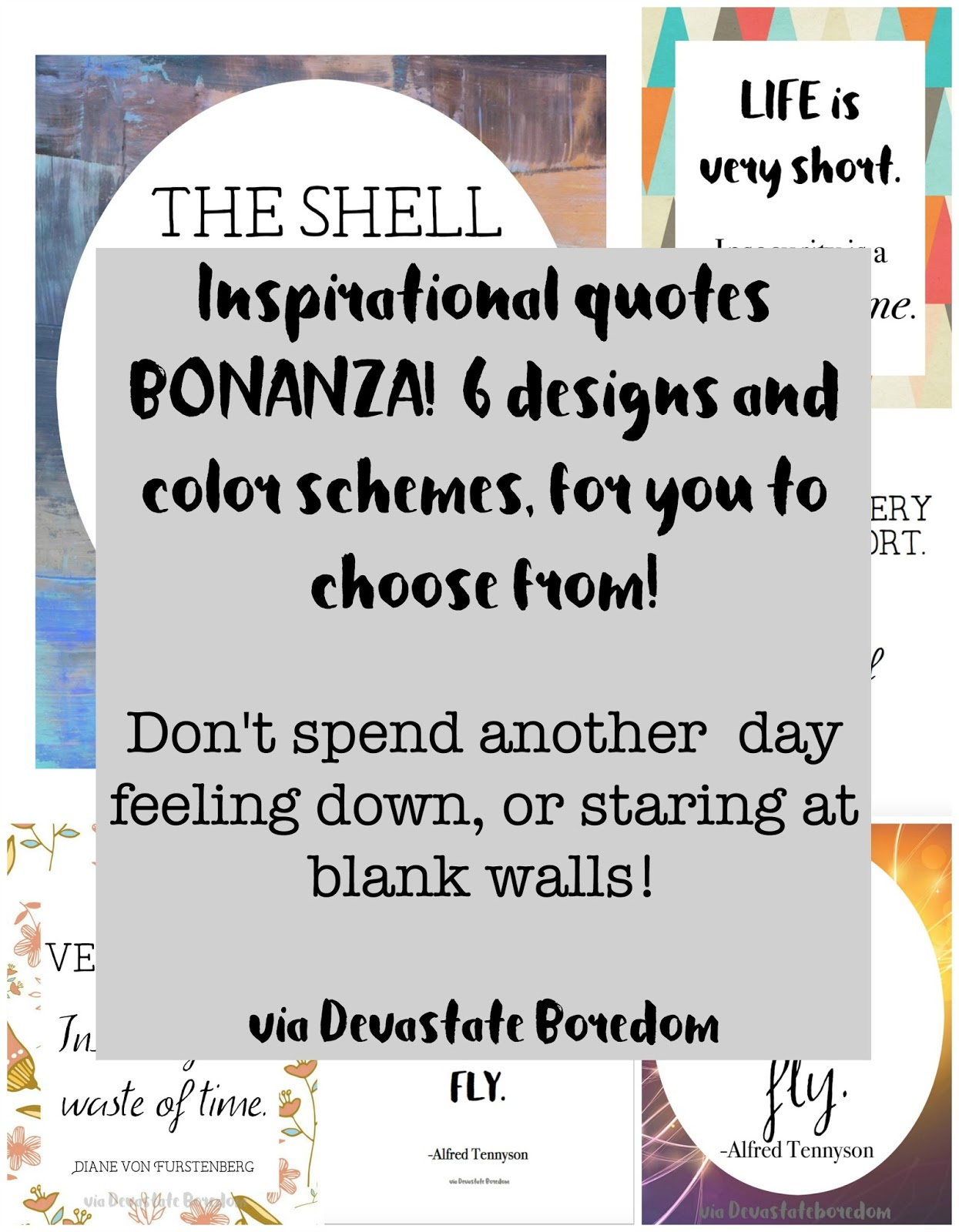 Vintage Wall art for I love free printables These are awesome new ones Inspirational