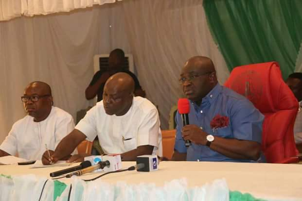 WE HAVE AWARDED CONTRACT FOR THE RECONSTRUCTION OF OSUSU ROAD, ABA.– @GovernorIkpeazu