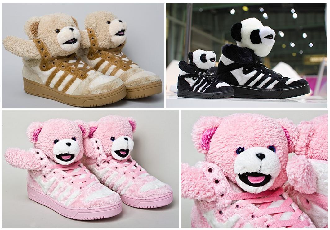 promo code 6ffae eaaf0 Las que más me fascinan son las JS Teddy Bears son simplemente  espectaculares y sorprendentes. ¡Llevarlas puestas ya es otra cosa!