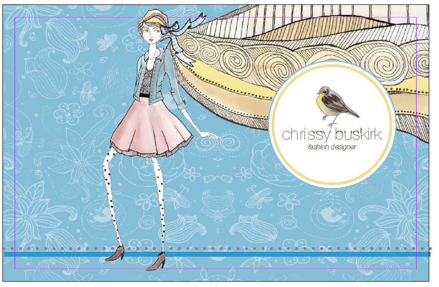Chrissy S Fashion Blog The Updated Portfolio Cover Page