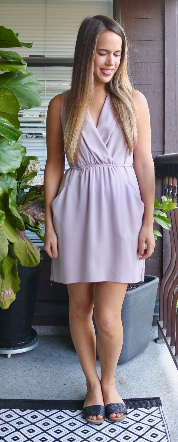 Jules in Flats - Aritiza Wilfred Sabine Dress for Work