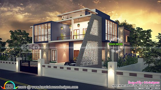 House  design and inside interior
