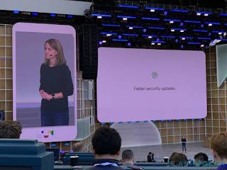يقول فريق التطوير أن  Android Q  سيكون أكثر أمانا ، و يدعم لاتصال  5G .