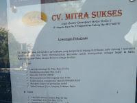 Lowongan kerja Sopir, Sales - CV. Mitra Sukses