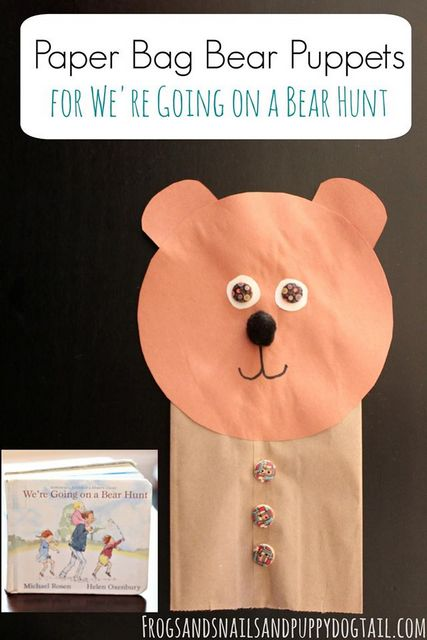 Bear Puppets We Re Going On A Bear Hunt The Ot Toolbox
