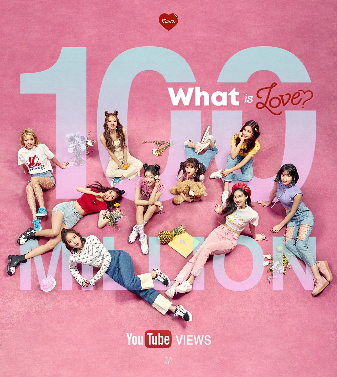 4f25edb26d Twice 'What Is Love?' Surpassed 100M Views On YouTube