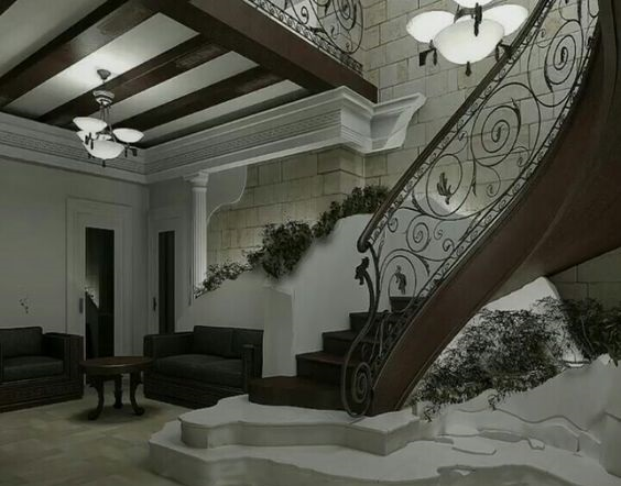 Latest Modern Stairs Designs Ideas Catalog 2019 | Ceiling Design For Stairs Area | Stairwell | Accent Lighting | Cake Shop | Cafeteria | L Shape