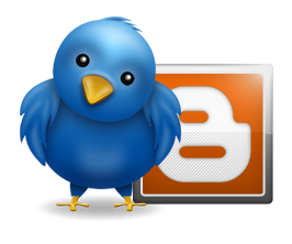 Blogger e twitter