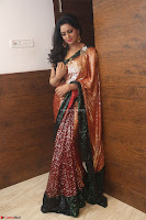 Udaya Bhanu lookssizzling in a Saree Choli at Gautam Nanda music launchi ~ Exclusive Celebrities Galleries 099.JPG