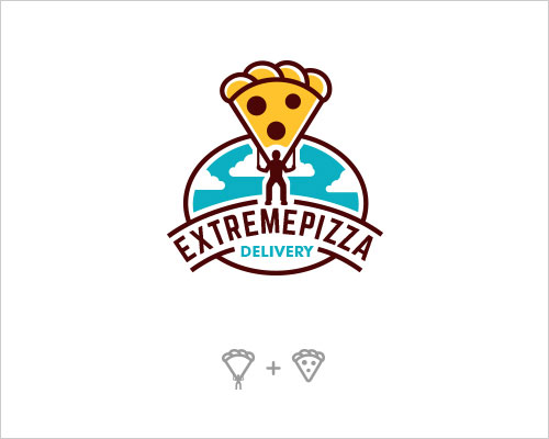 Logo Example - Extreme Pizza