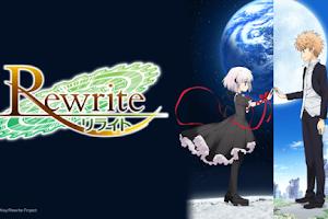 Rewrite S2: Moon and Terra - [11/11] -  MP4 HD + AVI - Mega