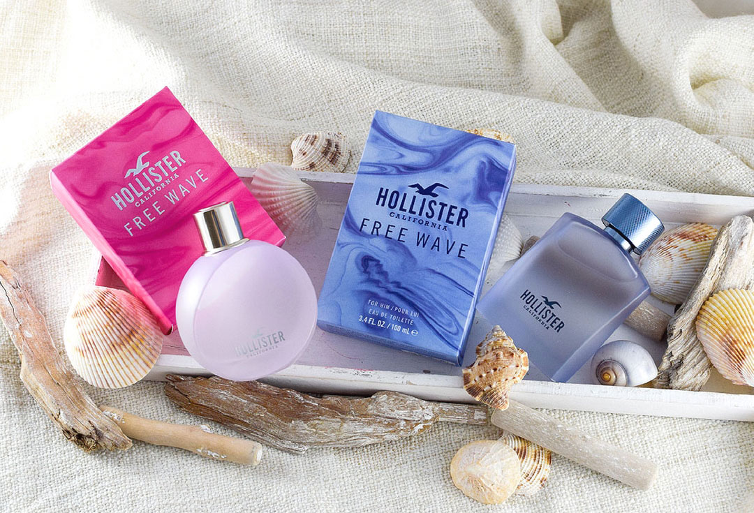 Hollister Free Wave for Her,  Hollister Free Wave for Him, Review, Test
