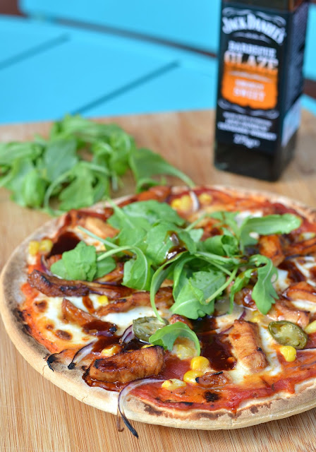 Sweet & Smokey BBQ Chicken Pizza