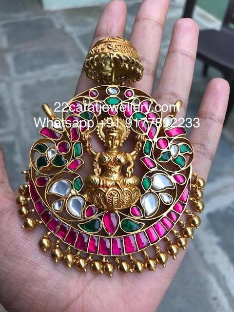 5 Diffrent Styles Silver Lakshmi Pendants