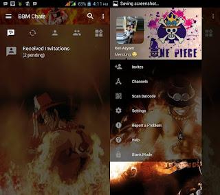 BBM Mod Portgas D Ace
