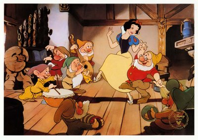 Snow dancing with the dwarfs Snow White and the Seven Dwarfs 1937 animatedfilmreviews.filminspector.com