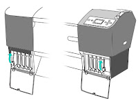 Epson Stylus Pro 7880/9880 change cartridges