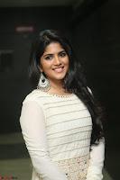 Megha Akash in beautiful White Anarkali Dress at Pre release function of Movie LIE ~ Celebrities Galleries 023.JPG