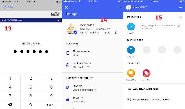 Setting Up Tez - A payment app by Google