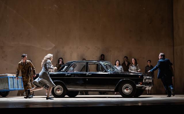 Janacek: Kat'a Kabanova - Andrew Staples, Amanda Majeski  - Royal Opera House (Photo ROH/Clive Barda)
