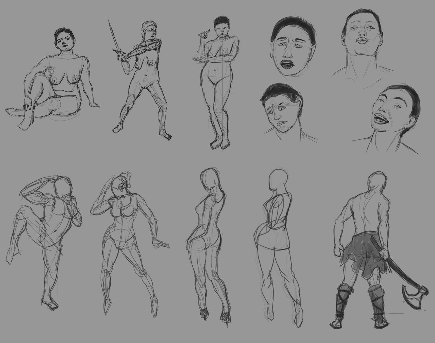 XaB au travail ! [nudity inside] - Page 5 Studies_2016-02-24_Postures