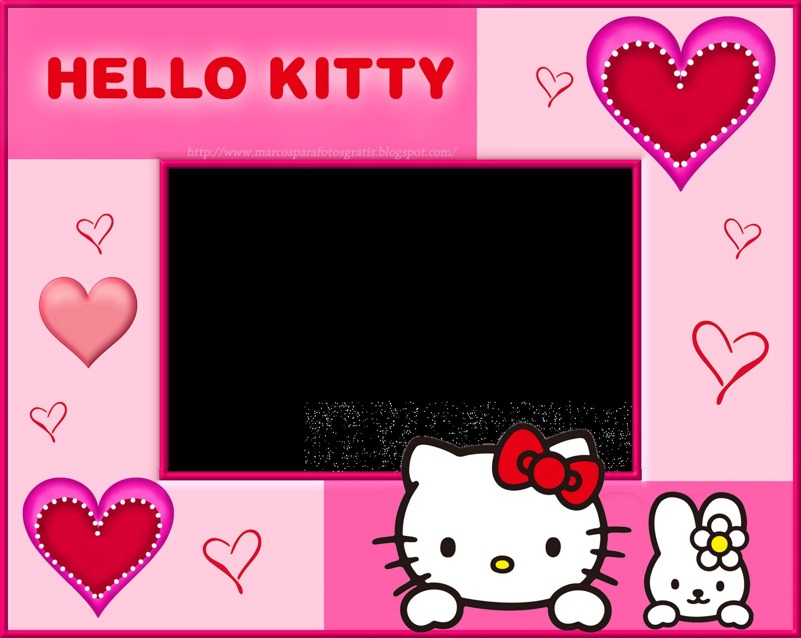 Marcos Para Photoshop Y Algo Mas Hello Kitty