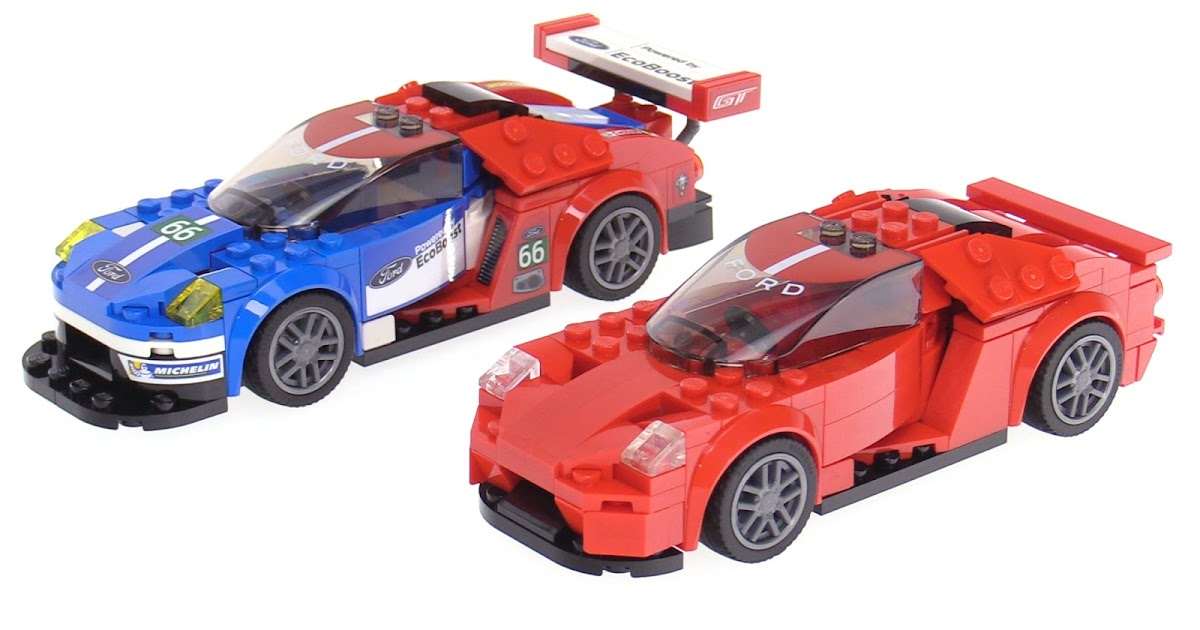 lego speed champions ford gt street mod. Black Bedroom Furniture Sets. Home Design Ideas