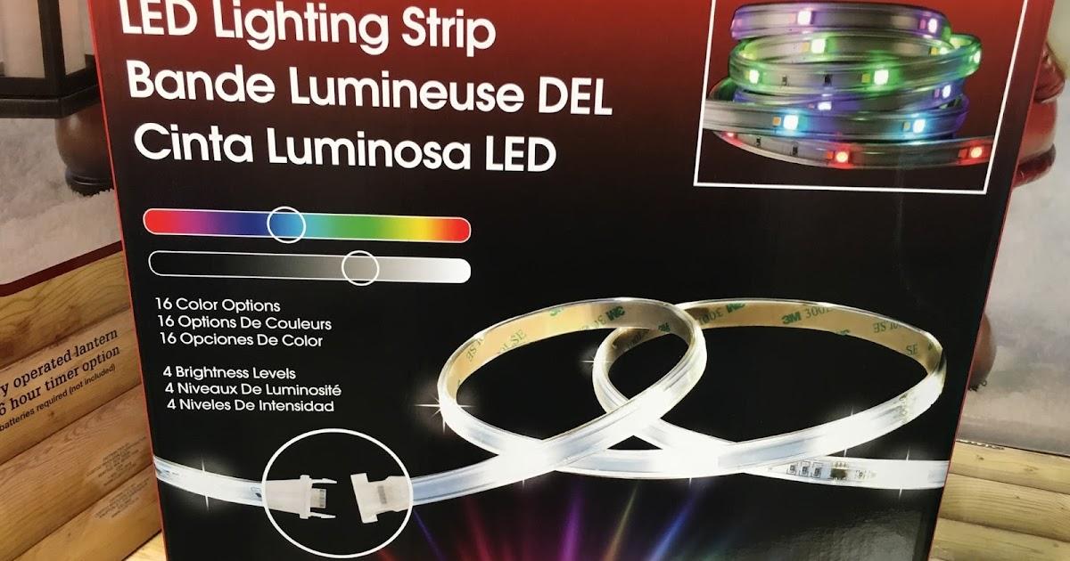 Dsi Led Lighting Strip Costco Weekender