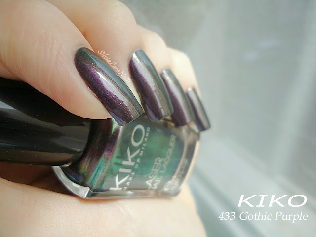 Silvia Lace Nails: KIKO Dark Heroine Collection