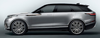 New 2018 Range Rover Velar SUV side look